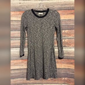 Madewell heather knit shift dress